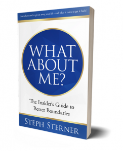book cover for What About Me? by Steph Sterner