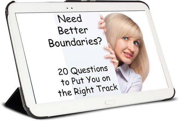 free guide cover for 20 boundary questions